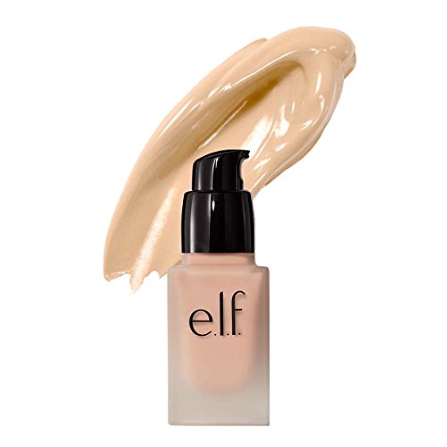 に関して作業タイプ(6 Pack) e.l.f. Oil Free Flawless Finish Foundation - Snow (並行輸入品)