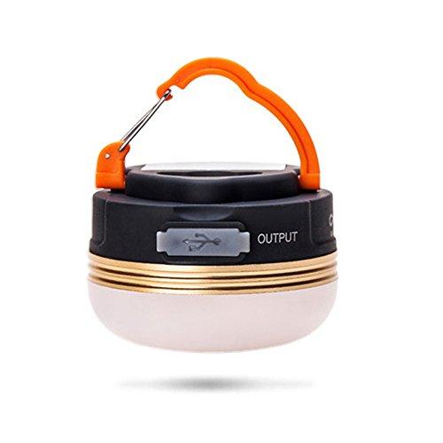 Fistone テント用 LEDランタン アウトドアライト 超軽量 携帯式 懐中電灯 USB充電式 三つ調光モード キャンプ 夜釣り 停電応急 防災用品