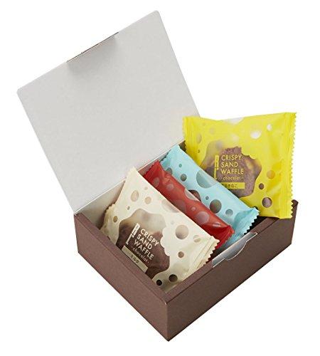エール・エル (4個)クリスピーサンドワッフル ショコラ 4個入り 手提げ袋付き