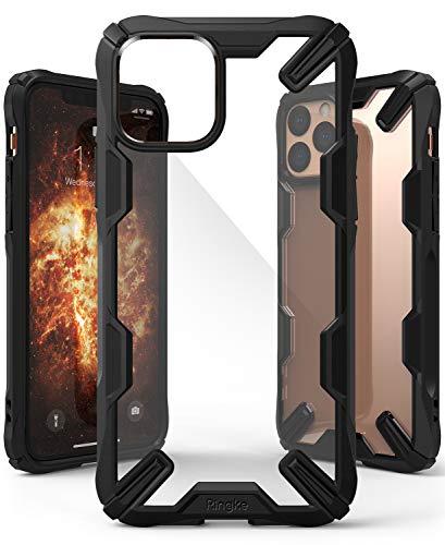 【Ringke】iPhone 11 Pro ケース iPhone11 Pro スマホケース ストラップホール [米軍MIL規格取得] クリア 透明 落下防止 カバー Qi ワイヤレス充電対応 iPhone ケース Fusion-X (Black ブラック)