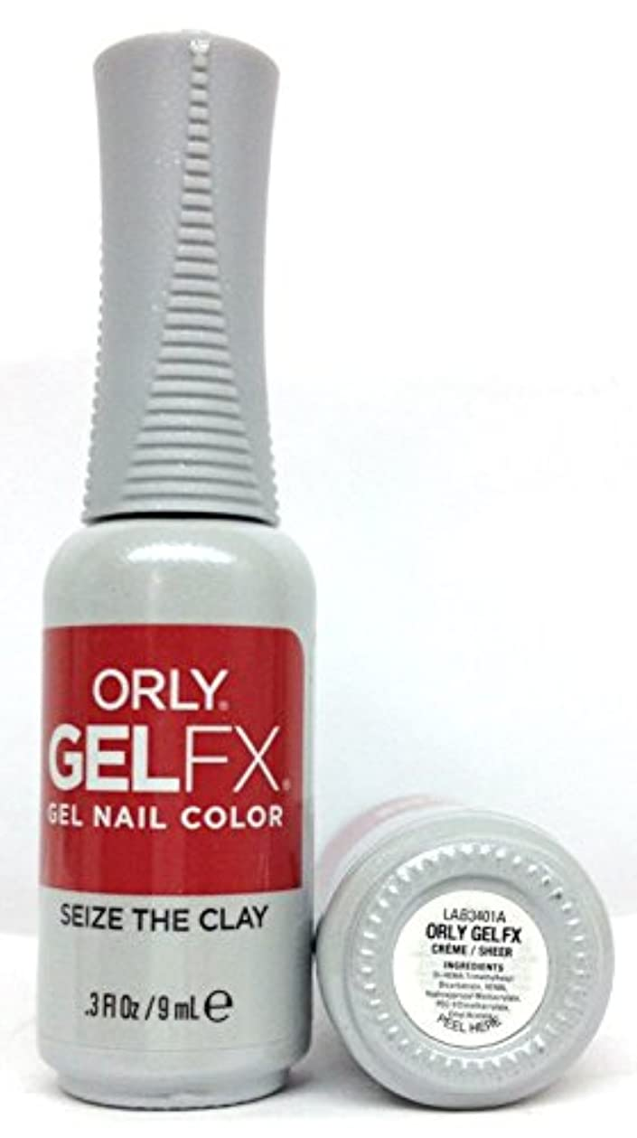 ラッチバタフライ現象ORLY GelFX - The New Neutral Collection - Seize the Clay - 9 ml / 0.3 oz