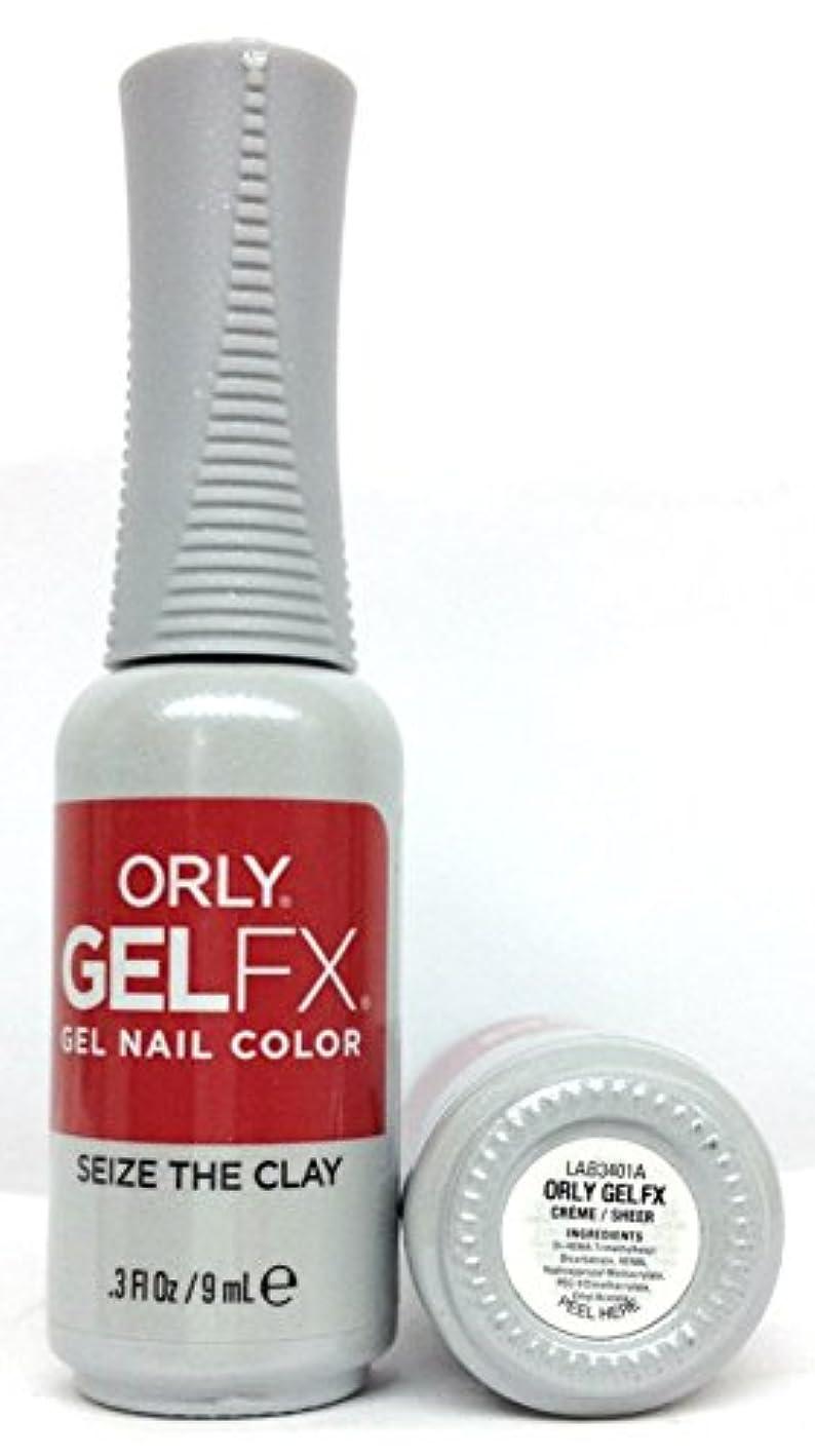 くぼみ盗賊海峡ひもORLY GelFX - The New Neutral Collection - Seize the Clay - 9 ml / 0.3 oz