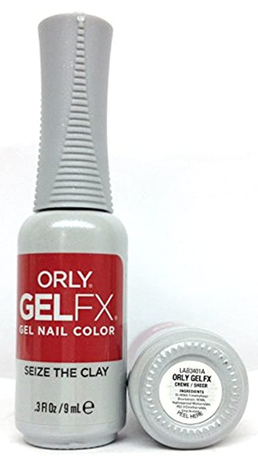 咲く頼む息子ORLY GelFX - The New Neutral Collection - Seize the Clay - 9 ml / 0.3 oz