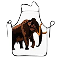Frog Ate Fly Bib Kitchen Apron,Flower Canvas,With Pockets,Machine Washable