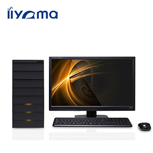 iiyama MN7250-i7-GXRM[Windows 8.1搭載]モニタ別売 (Core i7-4790/1TB/8GB/DVD/GeForce GTX 750) デスクトップパソコン 雅シリーズ ミニタワータイプ