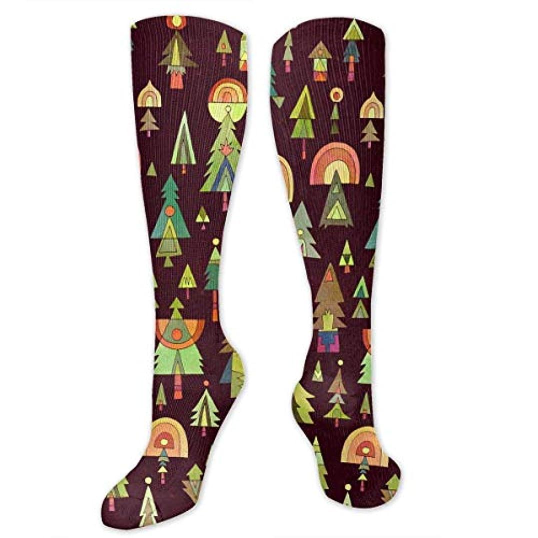 ファックス初期毎回靴下,ストッキング,野生のジョーカー,実際,秋の本質,冬必須,サマーウェア&RBXAA Colored Christmas Tree Socks Women's Winter Cotton Long Tube Socks...