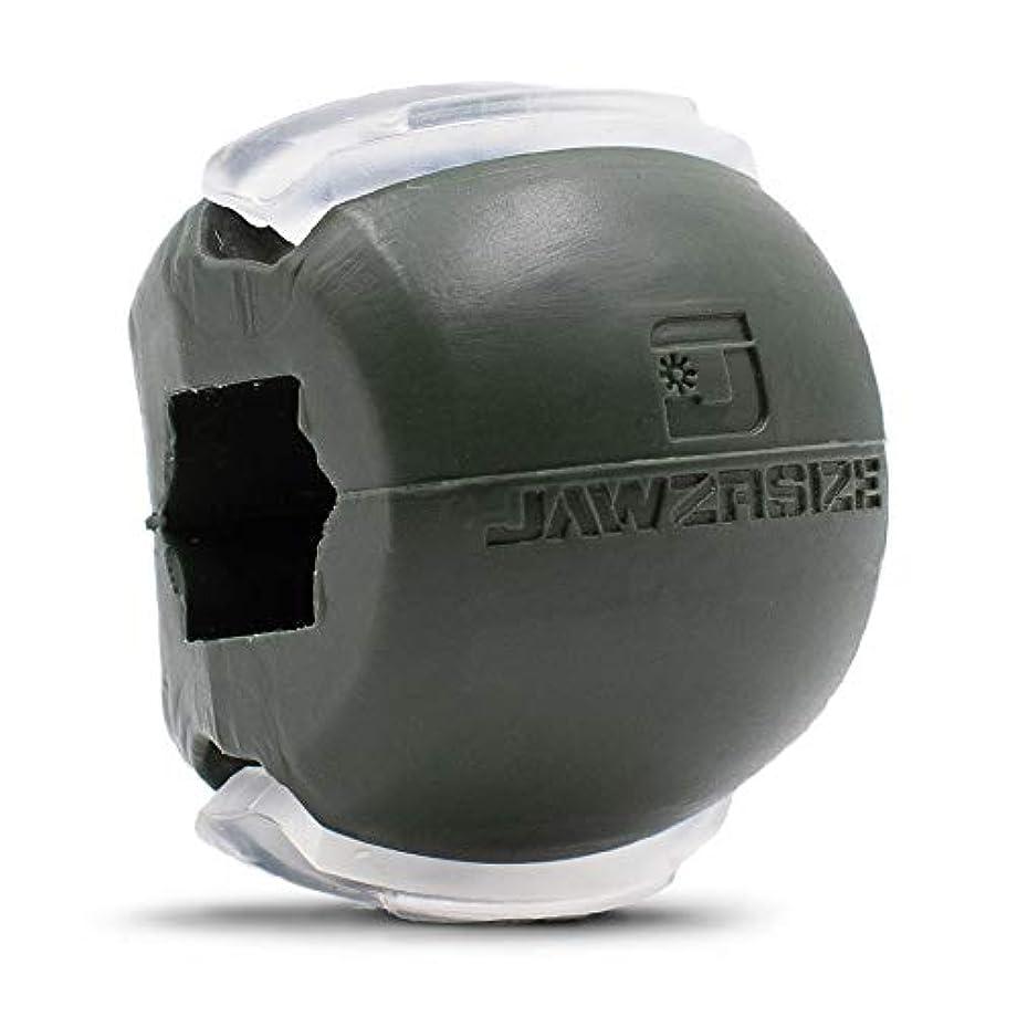 宮殿不振挑むJawzrsize フェイストナー、ジョーエクササイザ、ネックトーニング装置 (50 Lb. 抵抗) レベル3 - ミリタリーグリーン