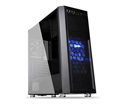UフォレストPC 第8世代 Core i7搭載ゲーミングデスクトップパソコン【CPU Core i7 8700/メモリ8GB/SSD240GB/HDD1TB/DVDマルチドライブ搭載/GTX1060/OS Windows10pro】 (【改良モデルv1.21】ブラック【Windows10単品】)