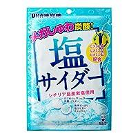 UHA味覚糖 塩サイダー 66g 72コ入り
