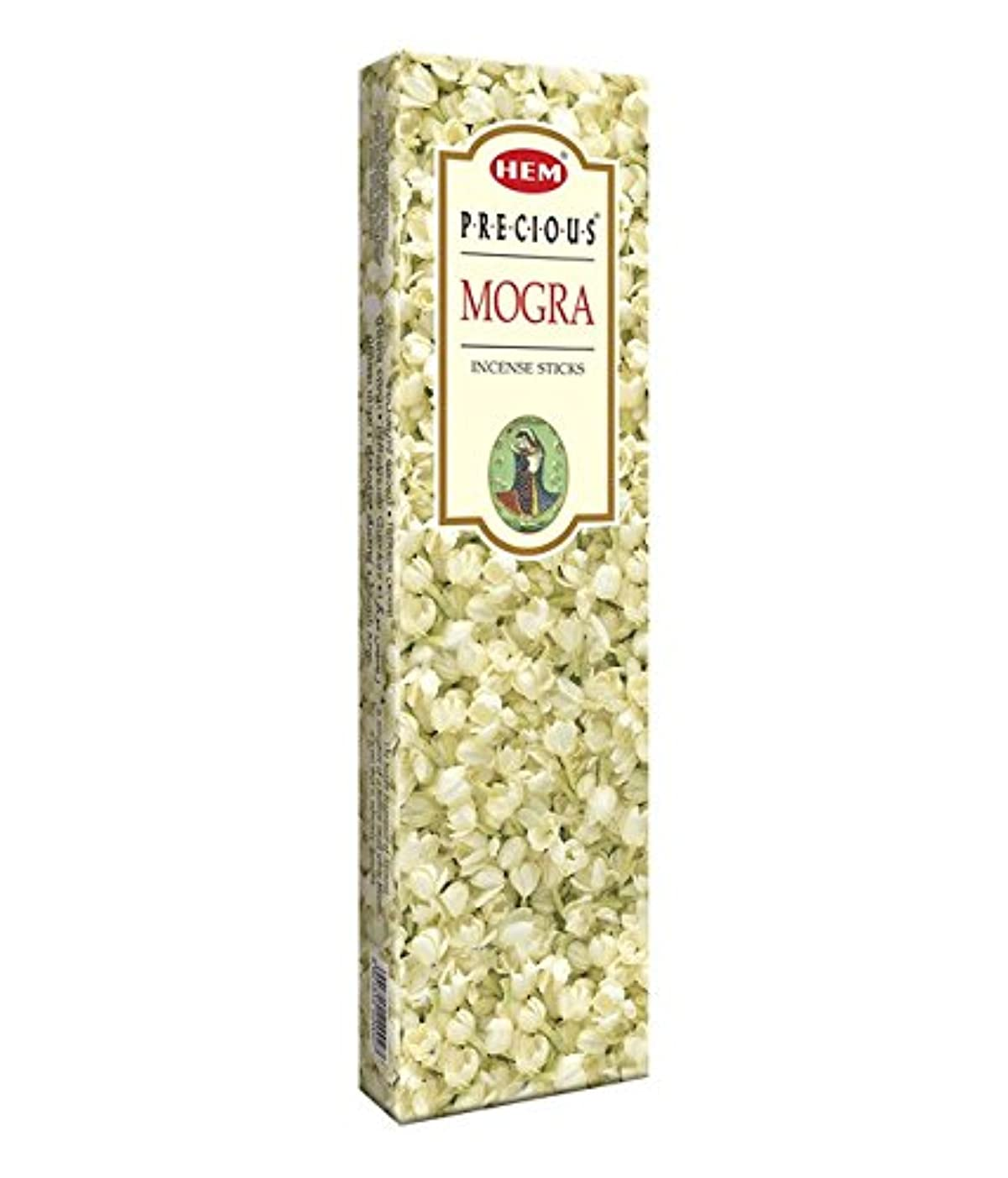 道徳教育購入シャトルAgarbathi Fragrance Hem Precious Mogra 100 g INCENSE STICKS