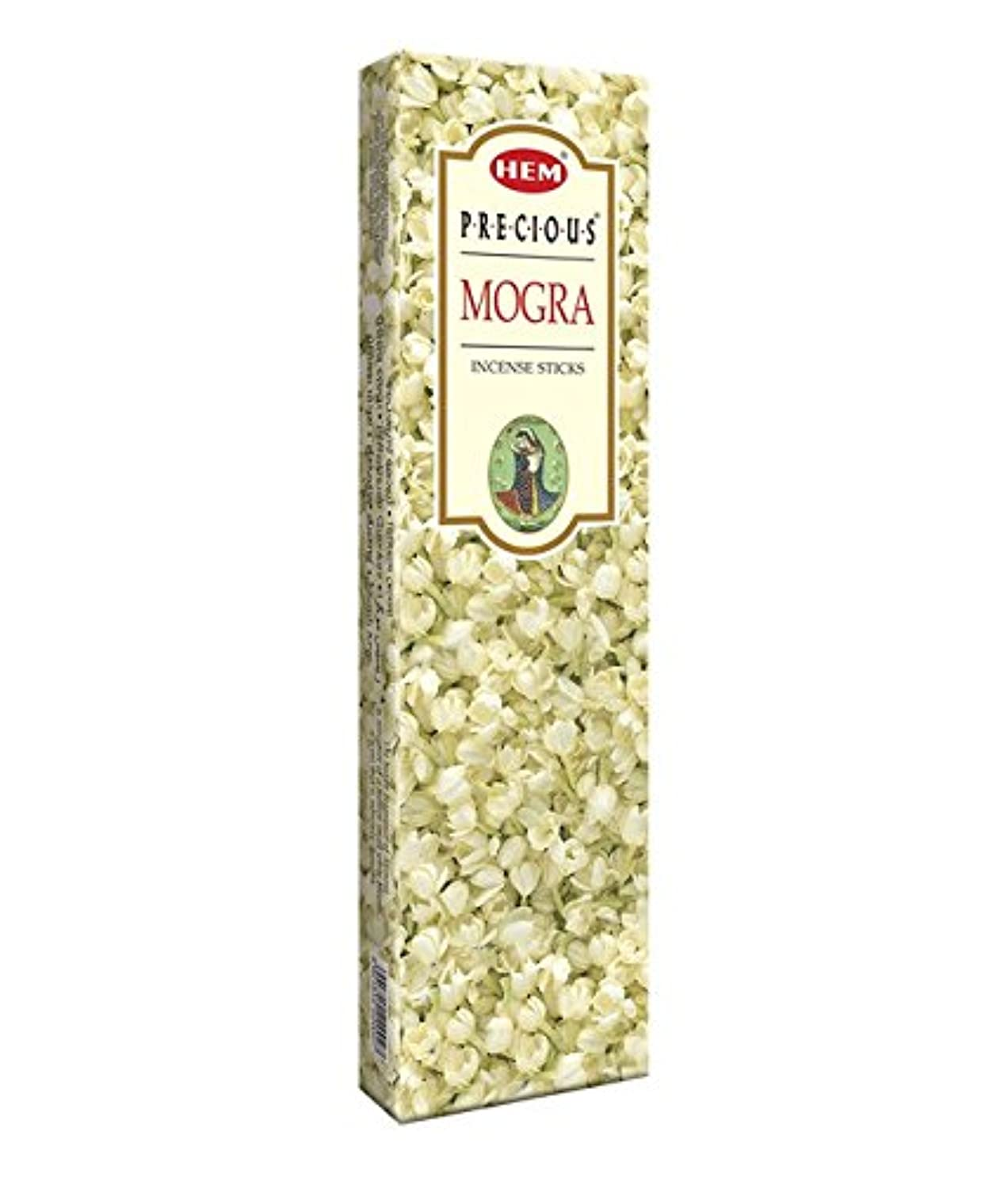 原始的な利点いつでもAgarbathi Fragrance Hem Precious Mogra 100 g INCENSE STICKS
