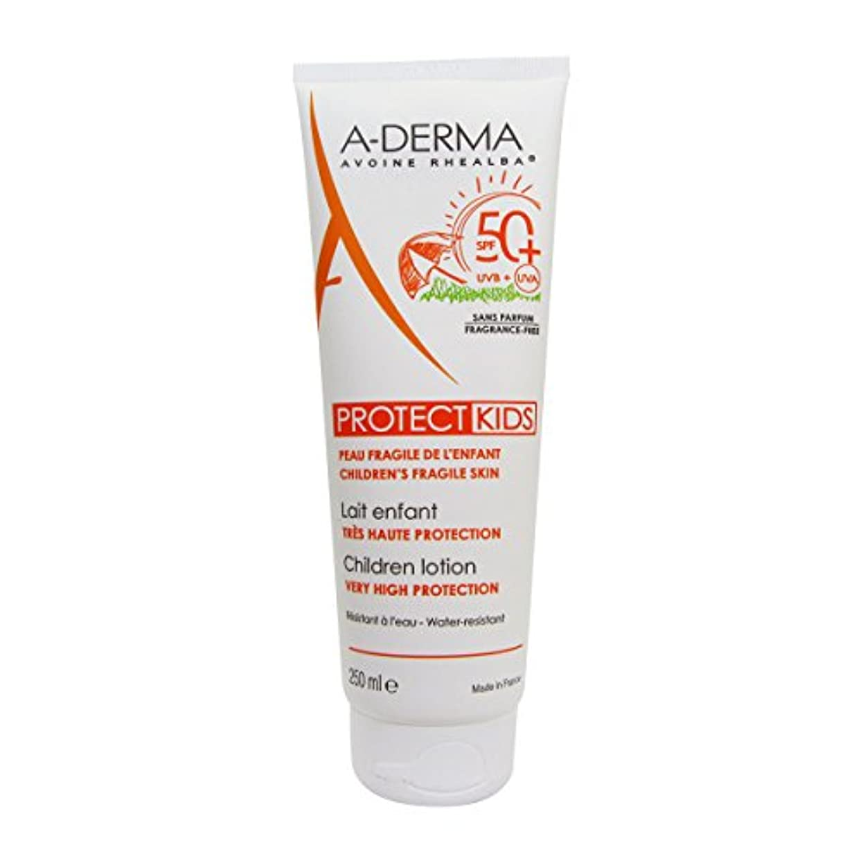 A-derma Protect Kids Lotion Spf50+ 200ml [並行輸入品]