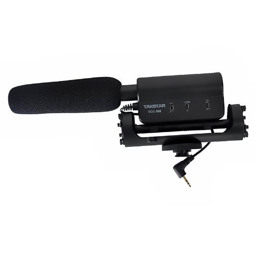 TAKSTAR ビデオカメラ用マイク モノラル ショットガン...