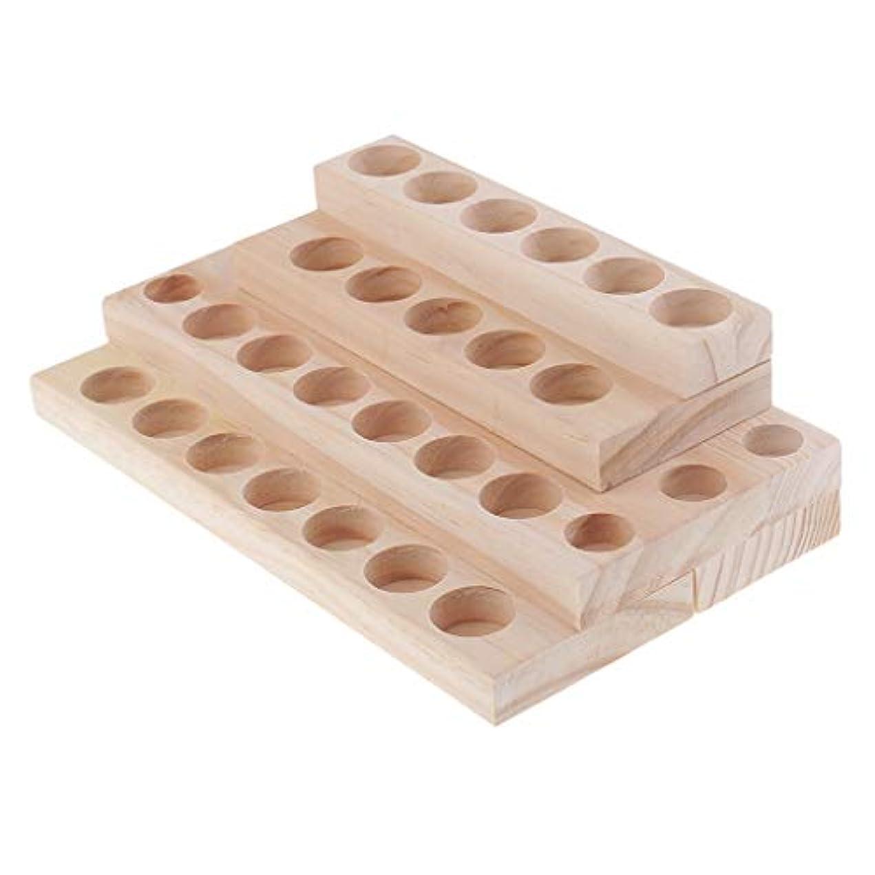 ブロックするオーナメントチャンピオン木製 エッセンシャルオイル 展示ラック 精油 オルガナイザー 陳列台 収納用品 4層
