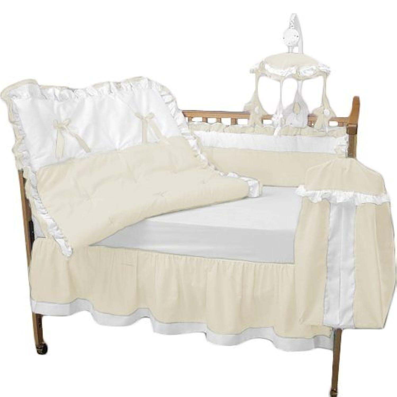 Baby Doll Bedding Regal Crib Bedding Set Ecru [並行輸入品]