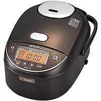象印 炊飯器 5.5合 圧力IH式 極め炊き 黒まる厚釜 ダークブラウン NP-ZS10-TD