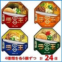 日清 ラ王 醤油/味噌/塩/豚骨 4種×各6個ずつ 計24個