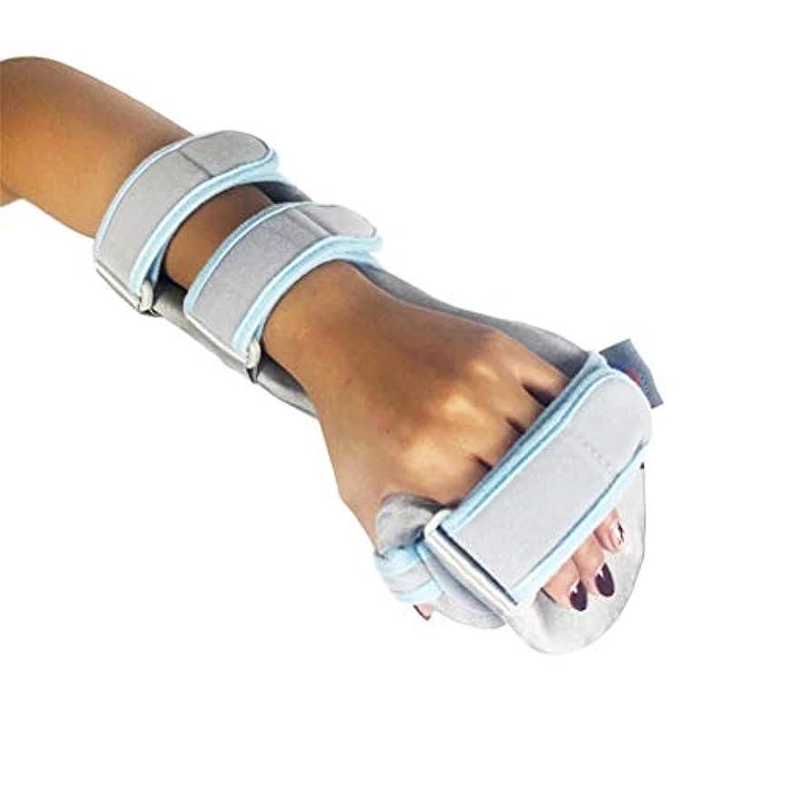 表面的な青メナジェリーHEALIFTY 指スプリントフィンガー手首骨折固定足場用腱腱炎腱炎骨折関節炎転位(右手)