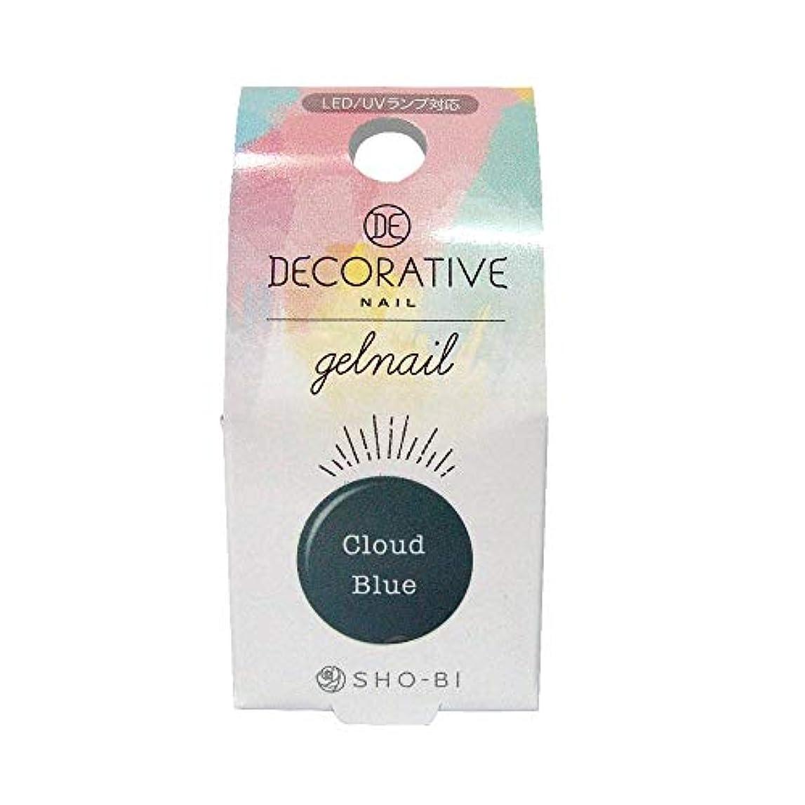 ますます東ティモール衣類DECORATIVE NAIL デコラティブネイル ジェルネイル カラージェル クラウドブルー TN81184