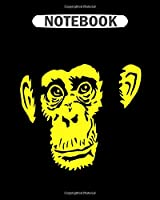 Notebook: chimpanzee  College Ruled - 50 sheets, 100 pages - 8 x 10 inches