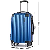 Wanderlite Hard Shell Suitcase Sets Small Medium and Large Lightweight Rolling Luggages Carry-on Case
