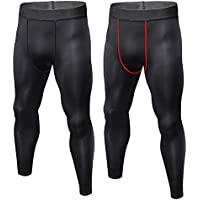 CVVTEE Boys Compression Pants Base Layers Soccer Hockey Tights Athletic Leggings Thermal for Kids.