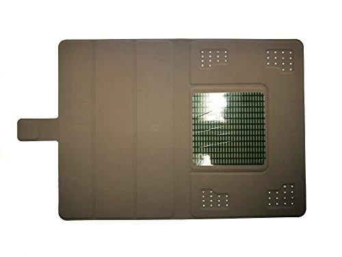 高級PU 超薄型 最軽量 三つ折 タブレット保護 ケース Olive Olivepad V-T500 ケース Lang