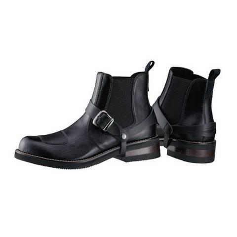[南海部品] ナンカイ ライディングブーツ ROADHAWK(ロードホーク) ブラック サイズ/28.0ALL-PU 合成皮革 NTB40A-280