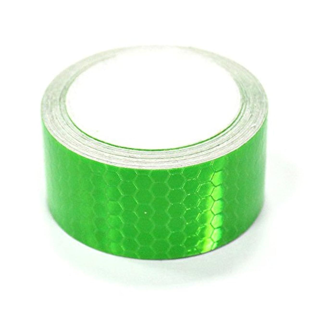 抹消関連する不器用maiqiken 反射テープ 屋外用 2フィート x 9.8フィート (5cm x 3m)
