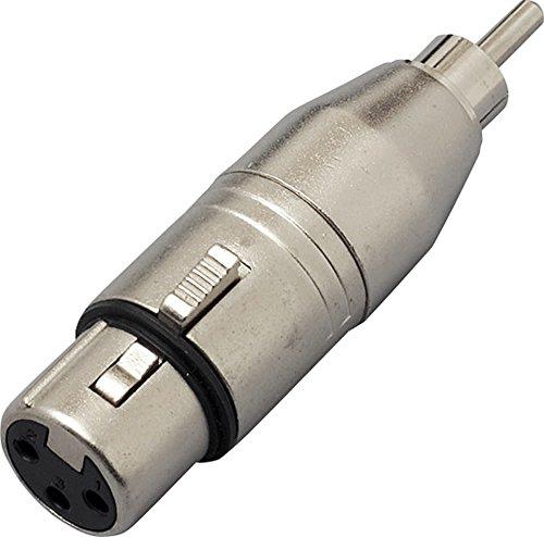 KC 変換コネクター  CA312  XLR F /RCA M