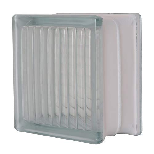 RoomClip商品情報 - ガラスブロック(145角、厚み80mm、平行クロス)gb30280