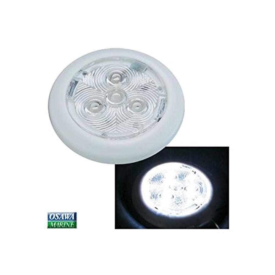 強風処理知性BRUNGER 薄型LEDインテリアライト ホワイト 商品番号:31249