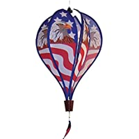 In the Breeze Patriot Eagle 6-Panel Kinetic Hot Air Balloon Wind Spinner [並行輸入品]