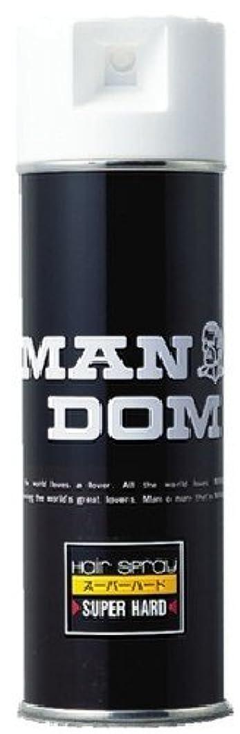 市の中心部式サークルMANDOM(マンダム) ヘアスプレー スーパーハード 微香性 225g
