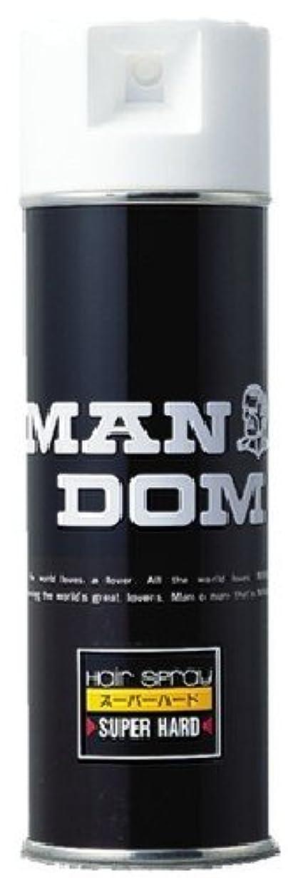 先見の明注釈推進、動かすMANDOM(マンダム) ヘアスプレー スーパーハード 微香性 225g