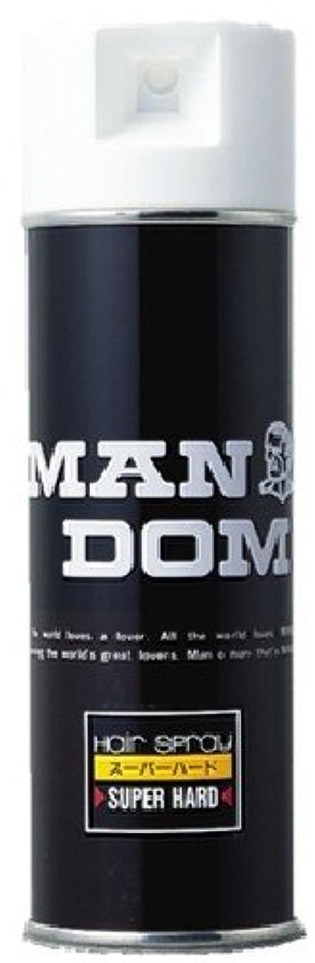 非アクティブ男移動するMANDOM(マンダム) ヘアスプレー スーパーハード 微香性 225g