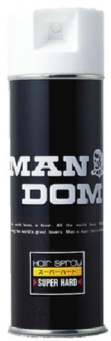 うんマニュアルリハーサルMANDOM(マンダム) ヘアスプレー スーパーハード 微香性 225g