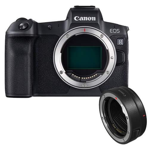 【マウントアダプター付】キヤノン ミラーレスカメラ EOS R ボディー&EF-EOSR マウントアダプター(キャノン/Canon)