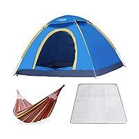 SzKing クイックオープン自動テント、屋外ダブルキャンプテント - ブルー キャンプに欠かせないアイテム