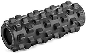 ランブルローラー/Rumble Roller(スモールサイズ/ハードタイプ/ブラック)-トリガーポイント&筋筋膜リリース/マッサージ&ストレッチローラー