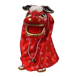 踊る獅子舞 レッド 303-261