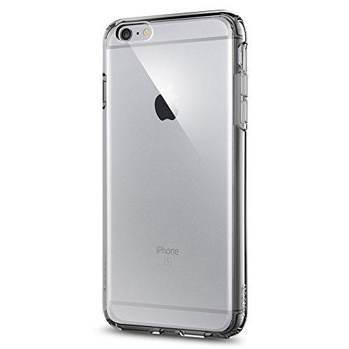 Spigen iPhone6s Plus ケース / iPhone6 Plus ケース, [ 背面 クリア ] ウルトラ・ハイブリッド アイフォン6s プラス / 6 プラス 用 米軍MIL規格取得 耐衝撃カバー (スペース・クリスタル SGP11645)