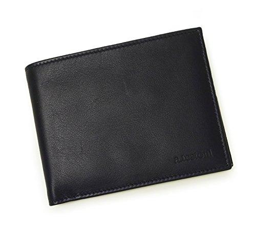 [テストーニ]Testoni 財布 メンズ 二つ折 (ネイビ...