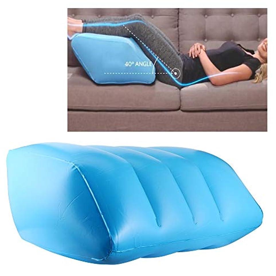 長々と子供時代エステートレッグレストリフター、10x20x16inポータブルウォッシャブルスリーピングレッグ枕、青、脚の疲労の痛みを軽減(blue)