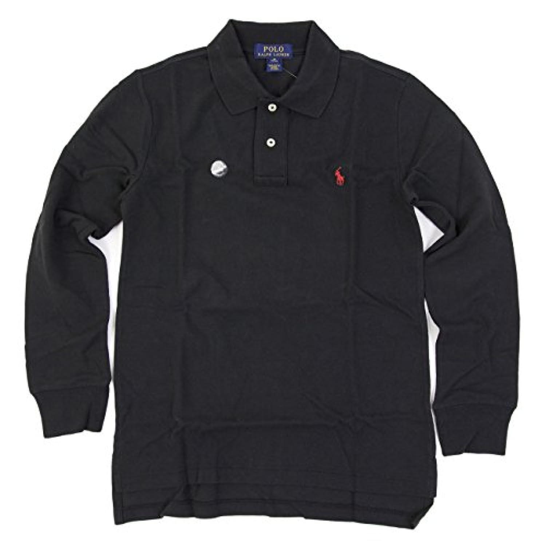 (ポロ ラルフローレン) POLO Ralph Lauren ボーイズ 長袖 鹿の子 ポロシャツ ワンポイント [並行輸入品]