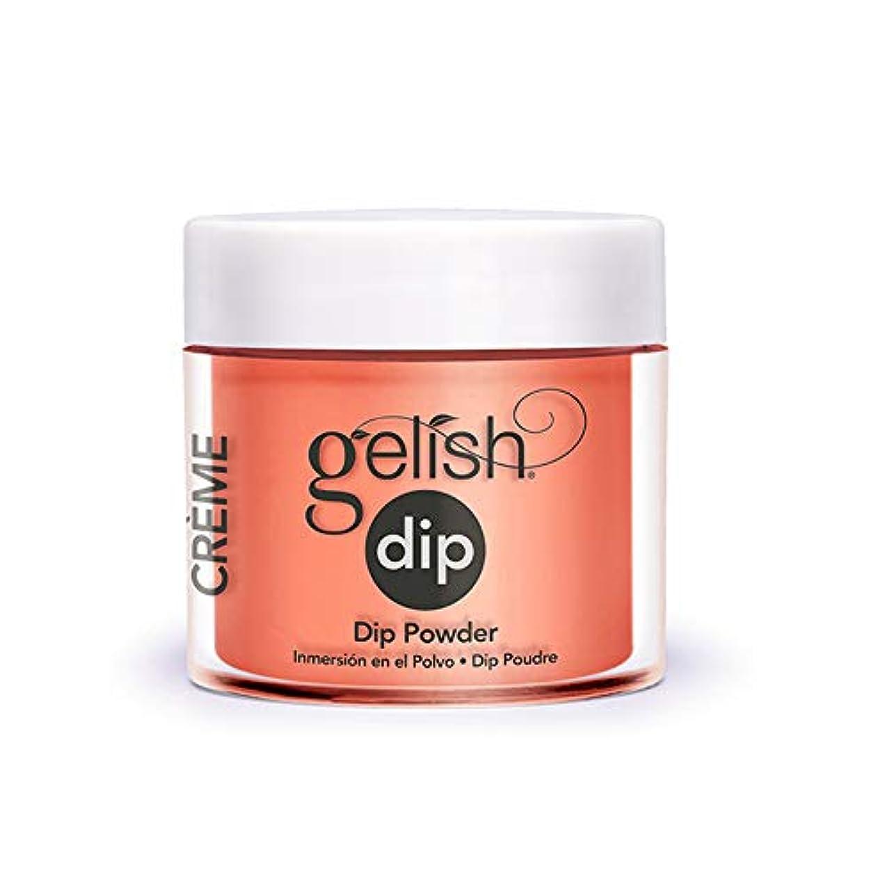 注釈カバレッジ意図的Harmony Gelish - Acrylic Dip Powder - Sweet Morning Dew - 23g / 0.8oz