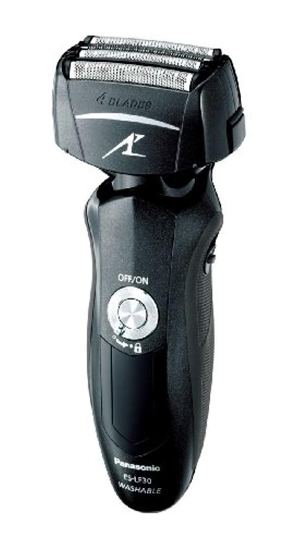 ウミウシやりがいのあるプラスチックパナソニック ラムダッシュ 4枚刃 黒 ES-LF30-K