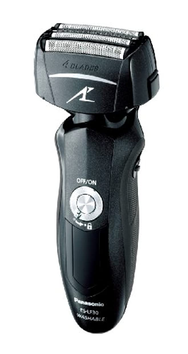 近代化頭時パナソニック ラムダッシュ 4枚刃 黒 ES-LF30-K