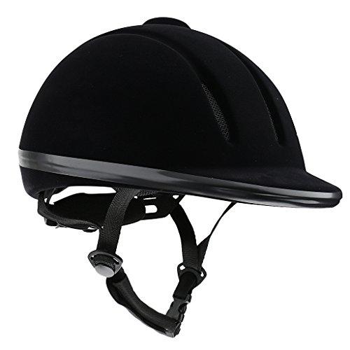 [해외]GRALARA 공기 승마 헬멧 안전 로우 프로파일 승마 모자 2 색 다 크기 선택할 - 블랙~ XL/GRALARA helmet for aeration riding horse safety low profile riding hat two colors multi-size to choose - black~ XL