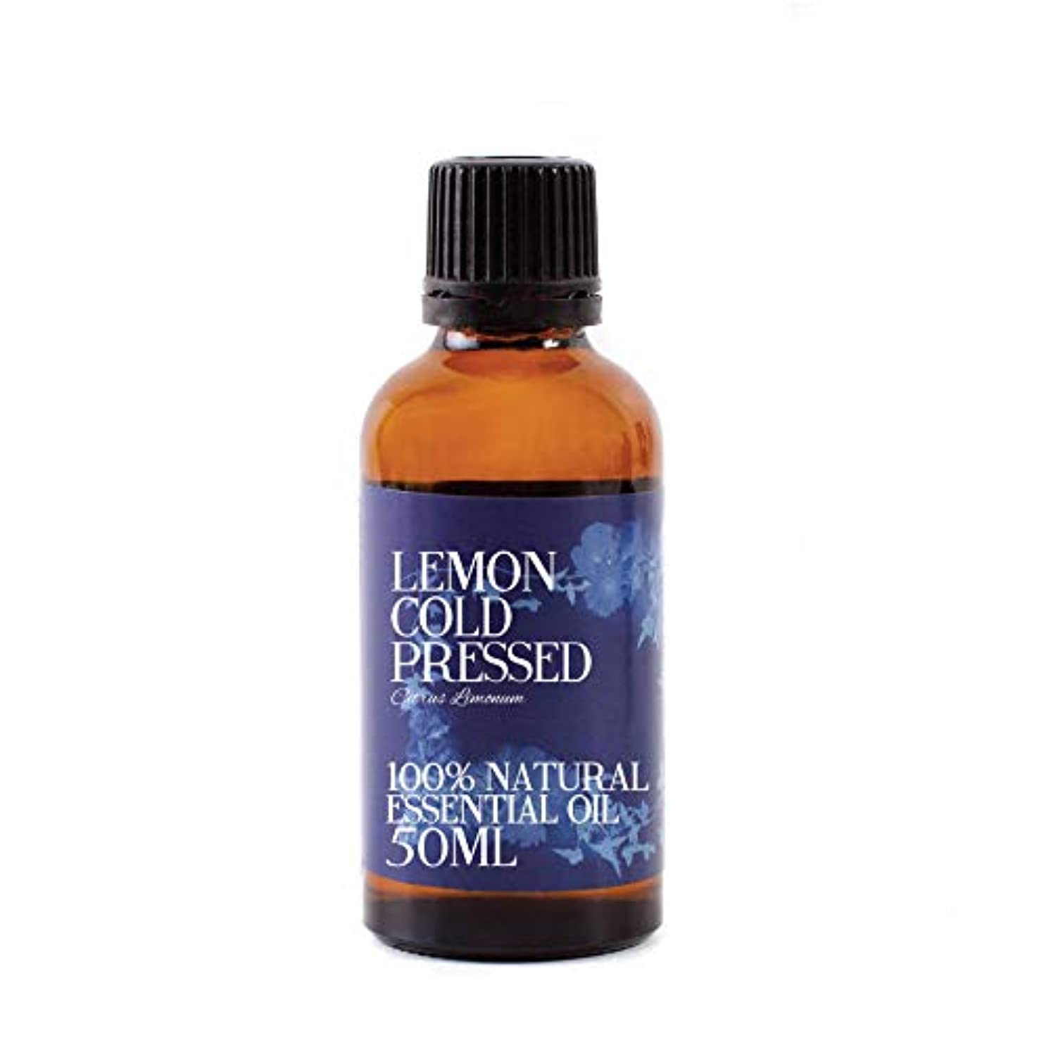 ブロック添加ドリンクMystic Moments   Lemon Cold Pressed Essential Oil - 50ml - 100% Natural